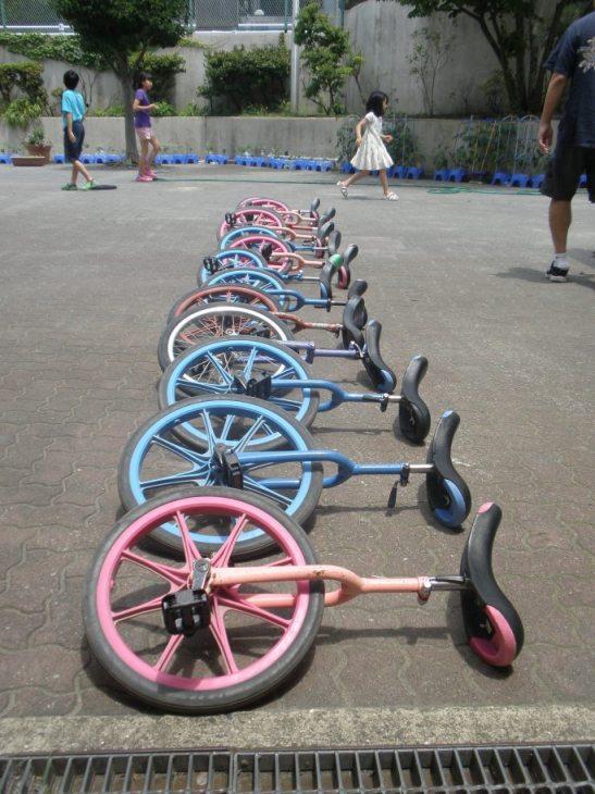 一輪車修理3