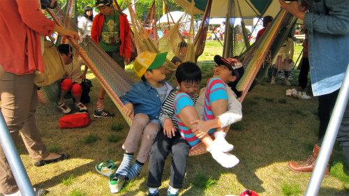 ハンモック広場@LOVE CHILD