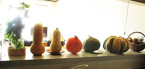 野菜のオブジェ