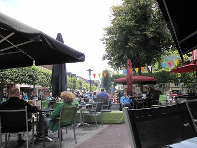 オランダ郊外のレストラン