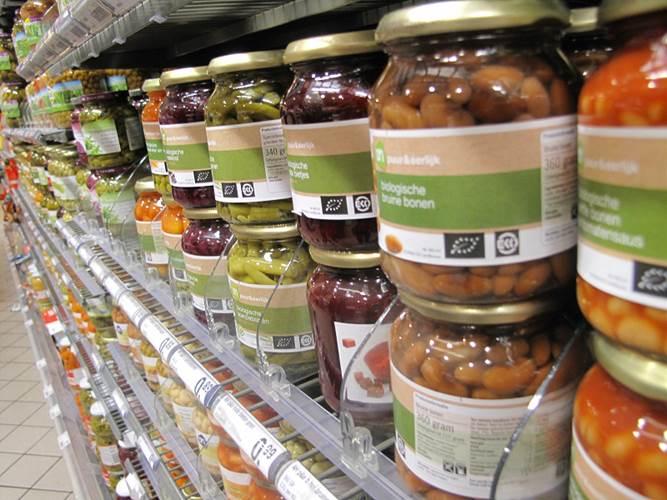 オランダのスーパーの有機認証