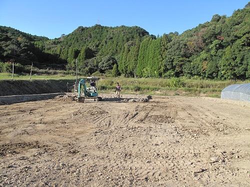 グリーンフィールドプロジェクト のスタッフブログの試験圃場の様子(露地栽培用)