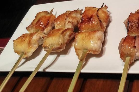 地鶏串焼き