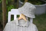 ヘンプ&コットンの新作帽子とチュニック