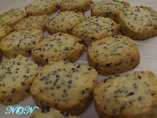 ゴマとチーズのクッキー