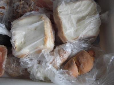 食パン ソーセージぱん