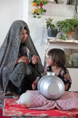 イランバター作り