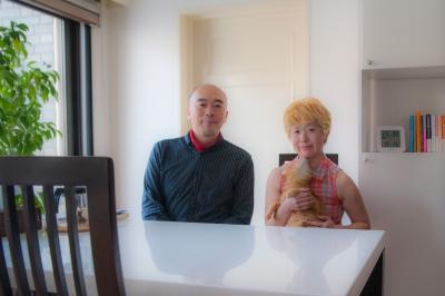 立花岳志さんとソルちゃんとわたし