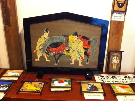 犬山、絵馬展