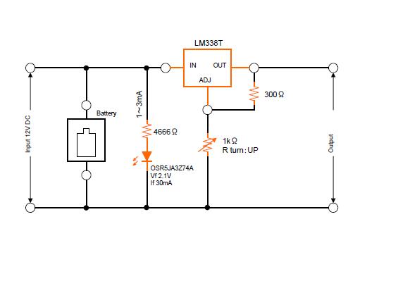 ワカサギ電動リール電源可変電圧回路