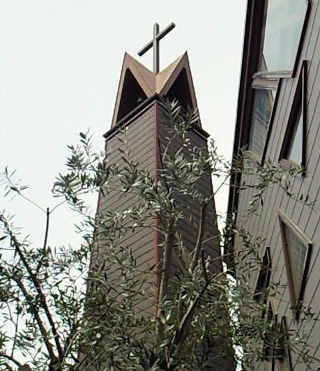 オリーブと教会堂