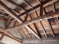 古民家 天井の梁