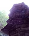 安楽寺 八角三重塔