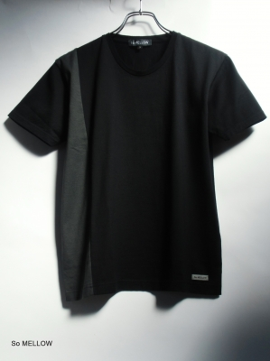 So MELLOW - Contrast Side Panel T-shirt