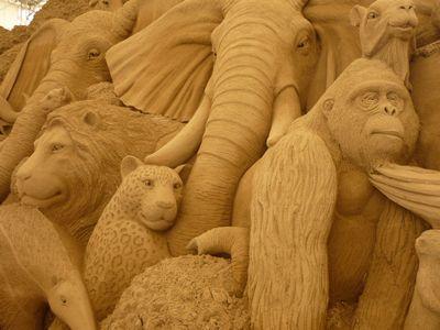 砂像美術館