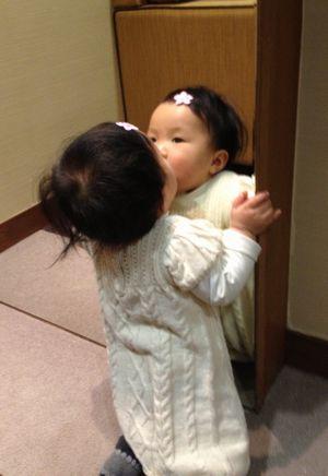 自分とのキス