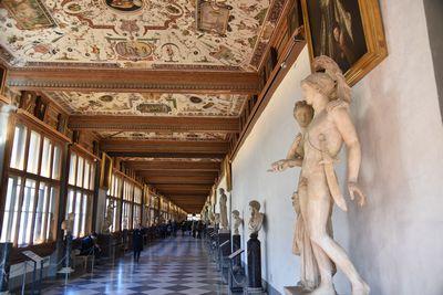 ウフィツィ美術館 イタリア バリアフリー旅行 しゃらく旅倶楽部 小倉譲