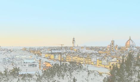 ミケランジェロ広場 イタリア バリアフリー旅行 しゃらく旅倶楽部 撮影 小倉譲
