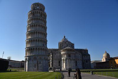 ピザの斜塔 イタリア バリアフリー旅行 しゃらく旅倶楽部 撮影 小倉譲