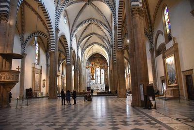 サンタマリアノヴェッラ教会  イタリア バリアフリー旅行 しゃらく旅倶楽部 撮影 小倉譲