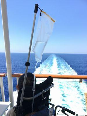エーゲ海クルーズ バリアフリー旅行 しゃらく 小倉譲 JEWEL OF THE SEAS