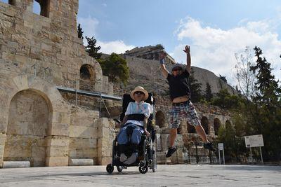 アテネ オリンピックスタジアム  バリアフリー旅行 小倉譲 しゃらく
