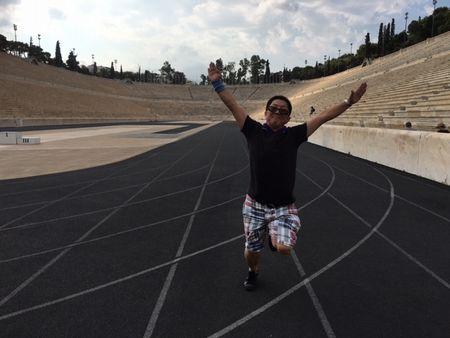 アテネ バリアフリー旅行 しゃらく 近代オリンピック オリンピックスタジアム