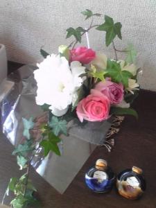 お花とお雛さま