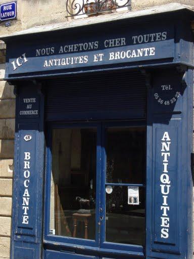 フランスのお店