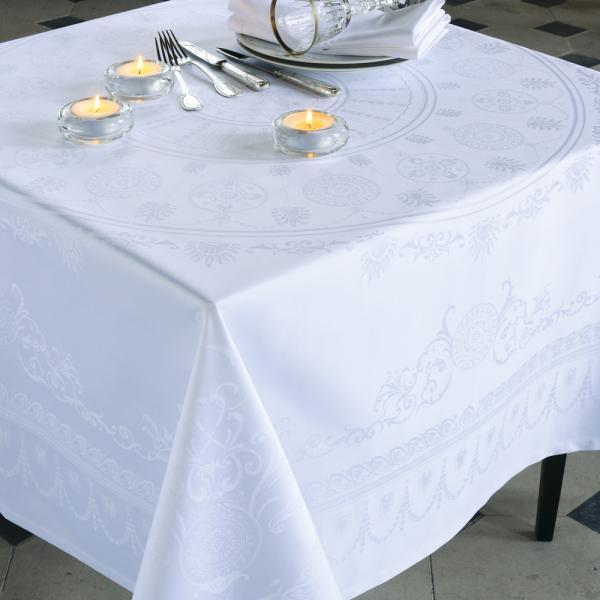 テーブルクロス 白