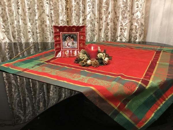 クリスマス テーブルクロス