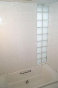 浴室ガラスブロック