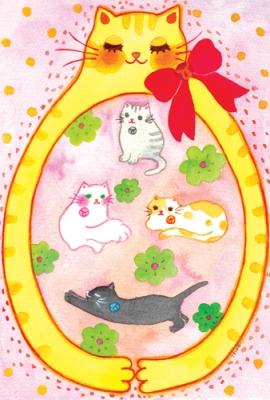 イラストレーターSEIKO チャリティーポストカード