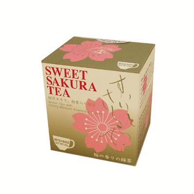 桜の緑茶。