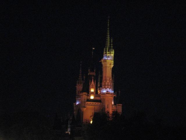 シンデレラ城夜