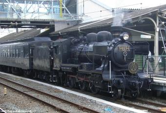 100805 SL人吉熊本駅 向かいホームから.JPG