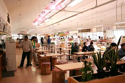 五色沼の物産館