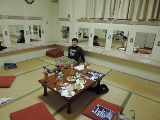 文化センター楽屋山本