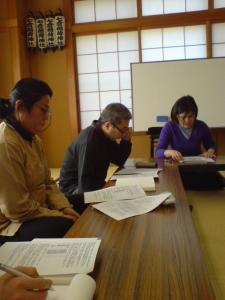 福島さんの講義〜様々な文献からの情報が網羅されており、とても勉強になりました