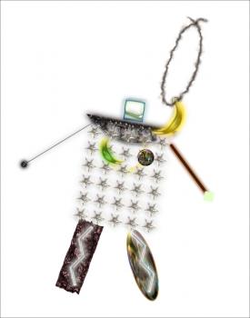 ロボットのキーホルダー