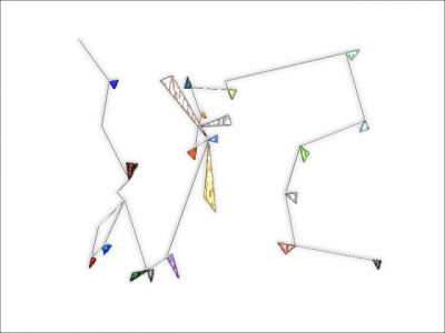 三角の集まり