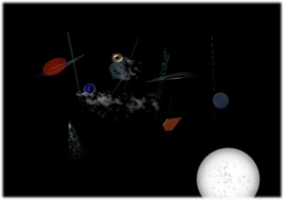 宇宙の雨 原画