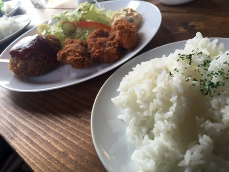 姫路 カフェ 相生 セブンシーズ 牡蠣