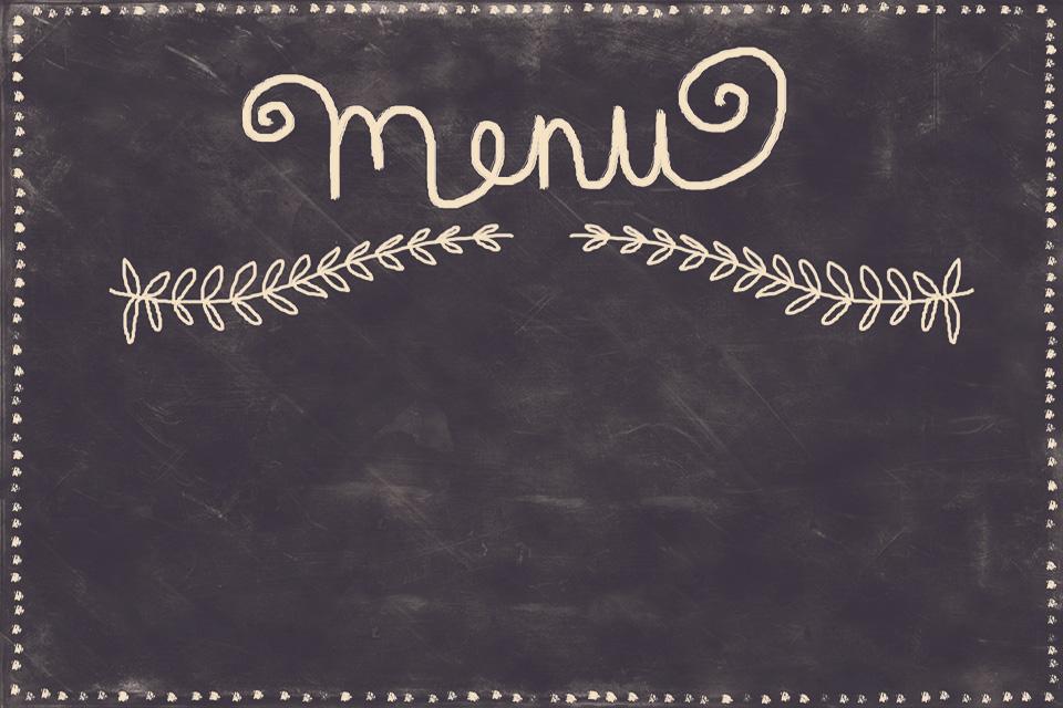 menu-signboard