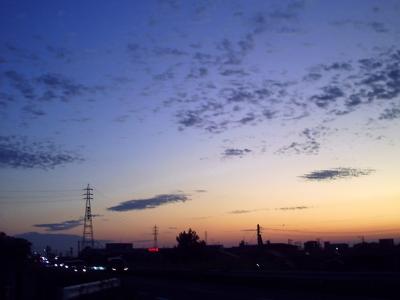 夕暮れ 〜また明日〜