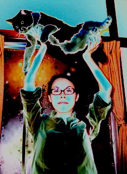 エア子先生とデブ猫くん