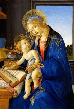 聖母子(書物の聖母)