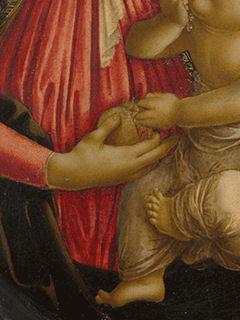 《バラ園の聖母子