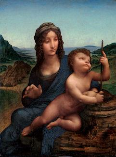 糸巻きの聖母