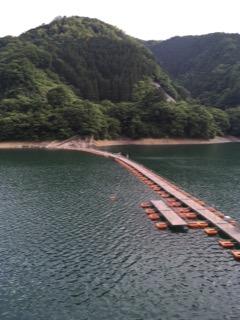 麦山の浮橋